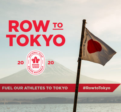 Join the #RowtoTokyo Campaign