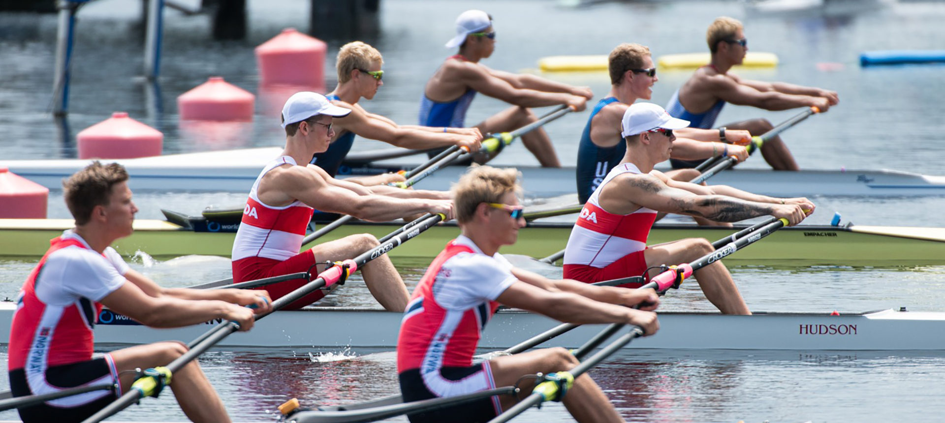 Canadian boats through to semi-finals and finals at U23 Worlds