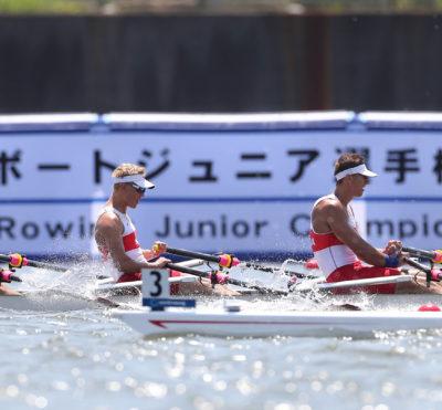 Three crews move on to World Juniors A/B semis