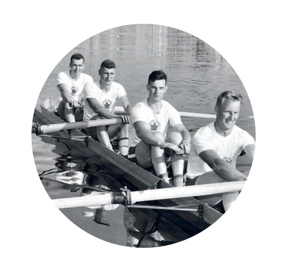 1956 Men's Coxless Four