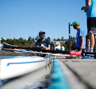 New rowers get out on the water for National Come Try Rowing Day