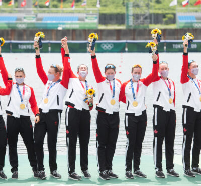 Olympic gold for Canada in the women's eight