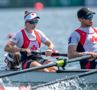 Canadian Paralympic boats kick off racing at Sea Forest Waterway
