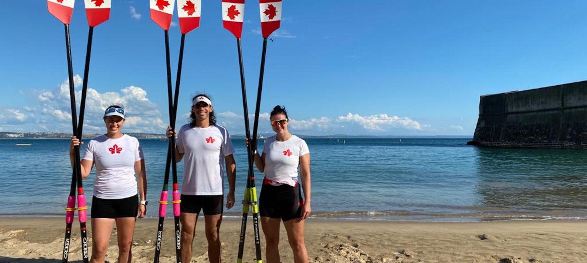Brienne Miller wins Beach Sprints gold